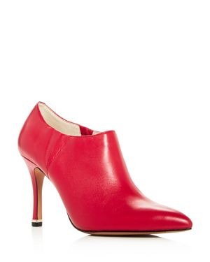 KENNETH COLE WOMEN'S MAGELLA LEATHER HIGH-HEEL BOOTIES