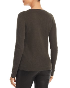 C by Bloomingdale's - Asymmetric Button Cashmere Sweater - 100% Exclusive
