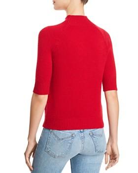AQUA - Mock-Neck Cashmere Sweater - 100% Exclusive