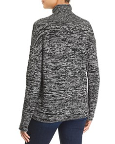 C by Bloomingdale's - Marled Turtleneck Cashmere Sweater - 100% Exclusive