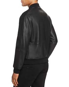 BOSS - Mirton Leather & Suede Bomber Jacket - 100% Exclusive