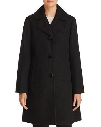 kate spade new york - Notched Collar Coat