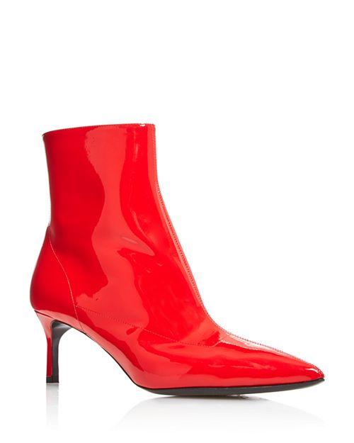 Via Spiga - Women's Baronne Pointed Toe Kitten Heel Booties - 100% Exclusive