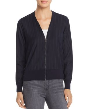 T TAHARI YASHI PINSTRIPED JACKET