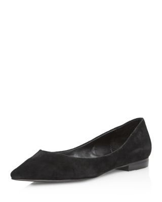 Aqua Women's Abel Suede Pointed Toe Flats - 100% Exclusive Q8uuOr2aXf