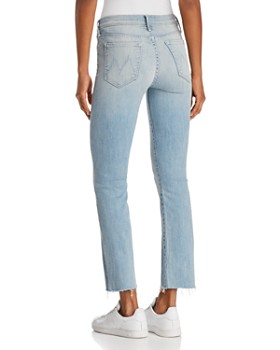 MOTHER - Rascal Ankle Snippet Jeans in Tinge