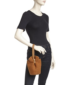 Elizabeth and James - French Fry Teddy Small Bucket Bag