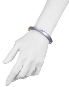 Alexis Bittar - Crystal Detail Lucite Hinge Bracelet