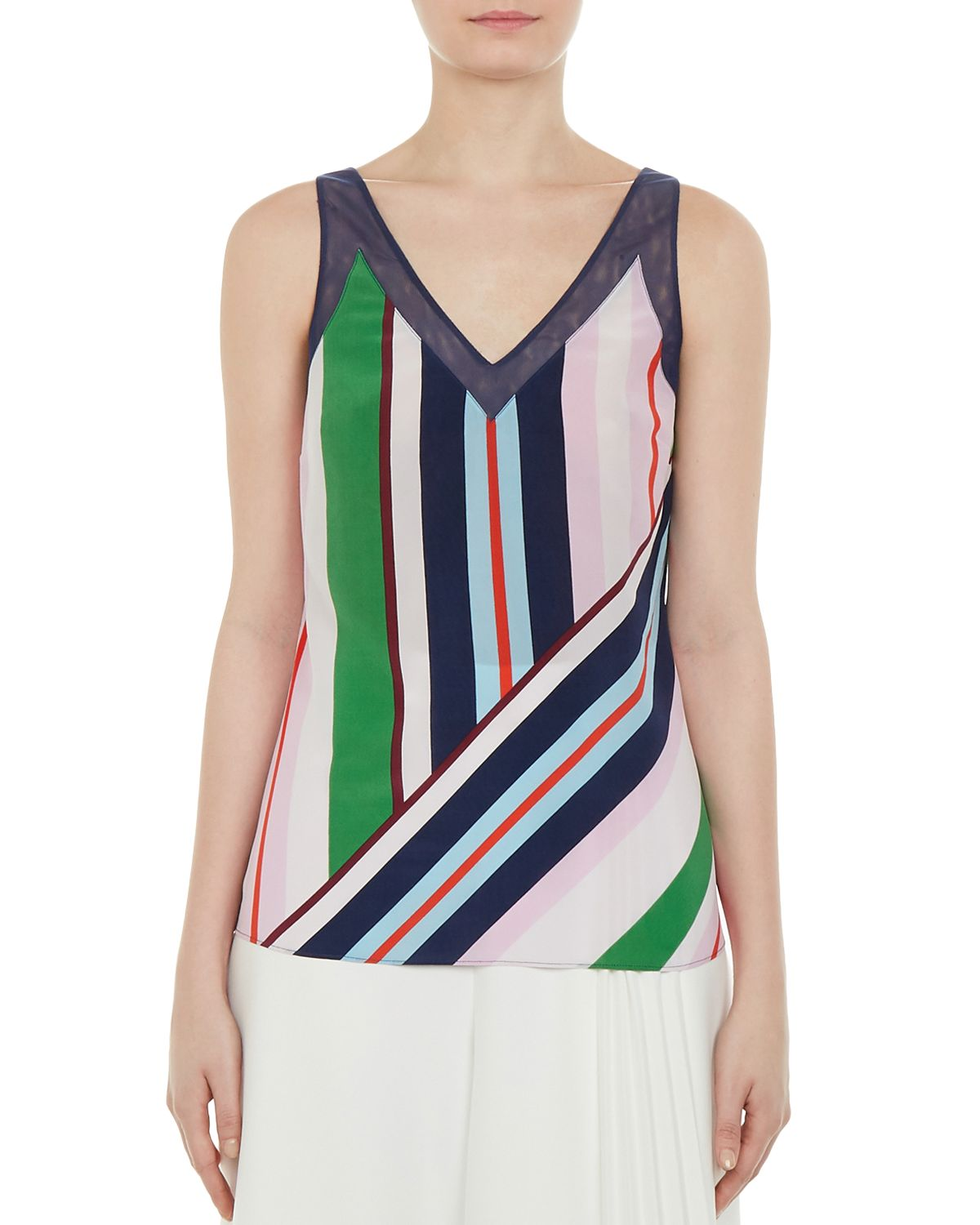 Calixto Bay Of Honor Silk Top by Ted Baker
