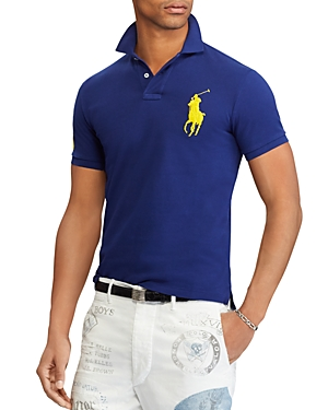 Polo Ralph Lauren Polo Custom Slim Fit Polo Shirt