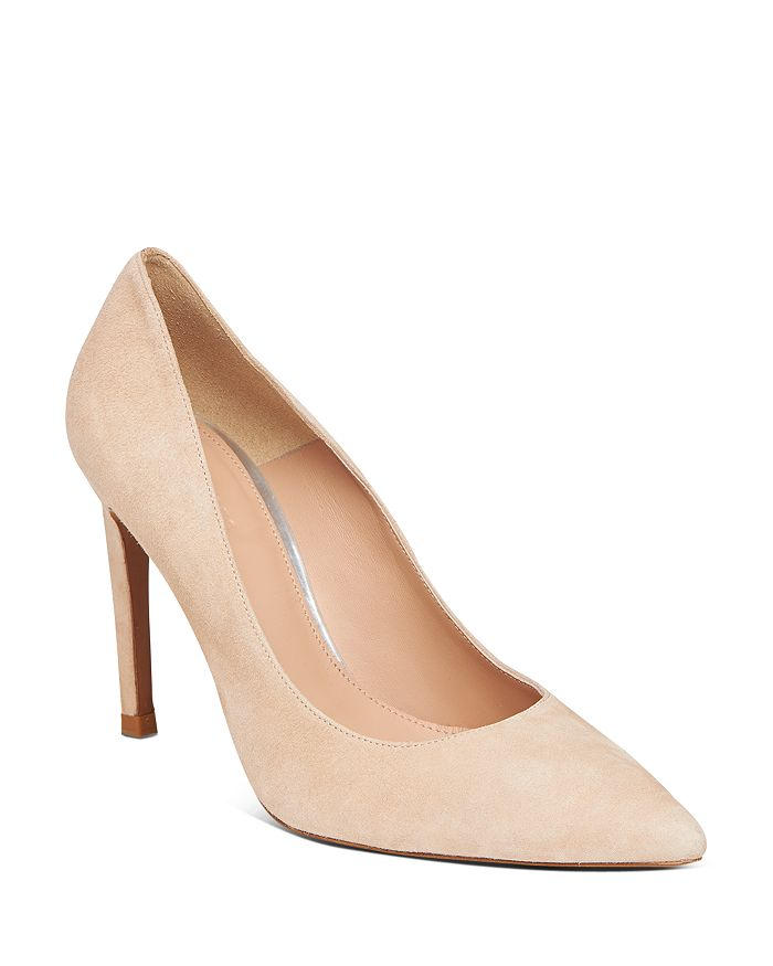 Whistles Women's Cornel Suede Pointed Toe Pumps In Nude