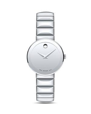 Movado Sapphire Watch, 28mm