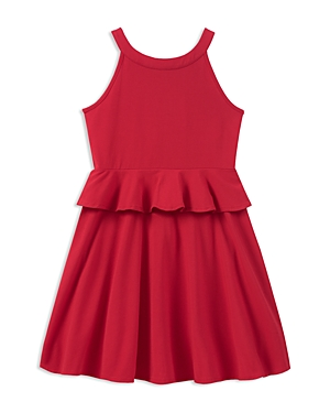 kate spade new york Girls Ponte Peplum Dress  Big Kid