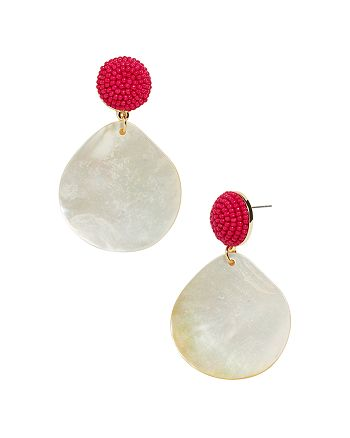 BAUBLEBAR - Milos Mother-of-Pearl Drop Earrings