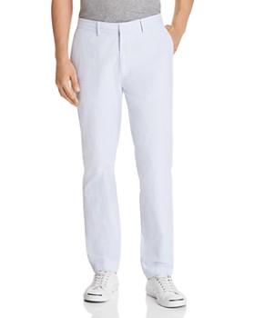 OOBE - Evans Seersucker Tapered Modern Fit Pants