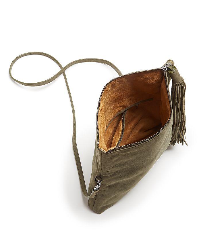 d7bbf8d02 HALSTON HERITAGE Christie Foldover Nubuck Leather Clutch ...