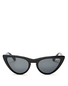 Vogue Eyewear - Gigi Hadid for Vogue Extreme Cat Eye Sunglasses, 54mm