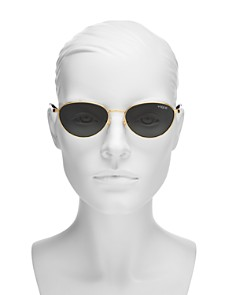 Vogue Eyewear - Women's Gigi Hadid for Vogue Round Sunglasses, 53mm