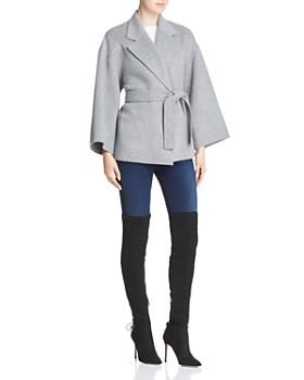 Theory - Wool & Cashmere Wrap Jacket