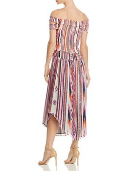 Ramy Brook - Mandee Off-the-Shoulder Silk Dress