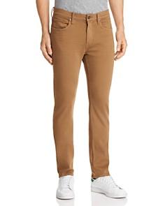 PAIGE - Federal Slim Fit Jeans in Laurel Tan