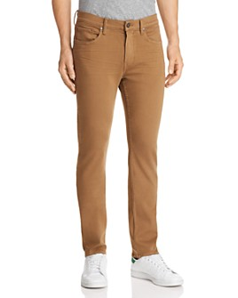 PAIGE - Federal Slim Straight Fit Jeans in Laurel Tan