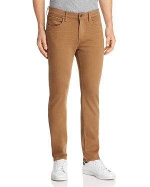 Paige Federal Slim Fit Jeans in Laurel Tan
