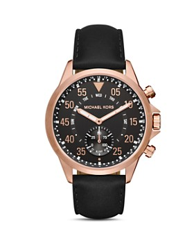 Michael Kors - Access Gage Rose Gold-Tone Hybrid Smartwatch, 45mm