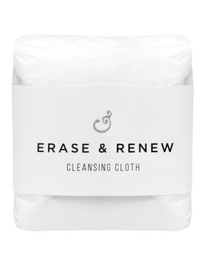 PESTLE & MORTAR Erase & Renew Double-Sided Facial Cleansing Cloths, Set Of 3