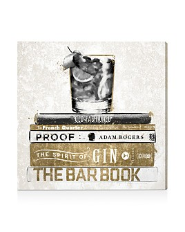 Oliver Gal - Luxe Bar Books Canvas Art