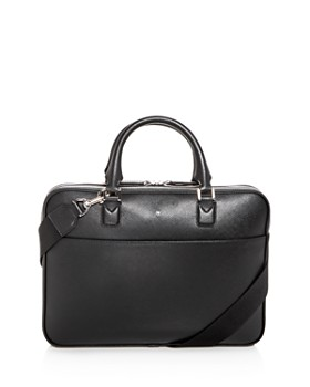 Montblanc - Sartorial Ultra Slim Embossed Leather Briefcase