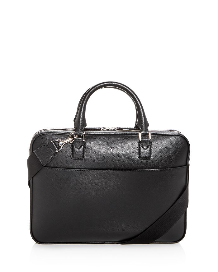 30bf52215a Montblanc Sartorial Ultra Slim Embossed Leather Briefcase ...