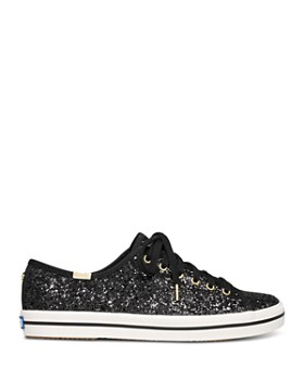 Keds - x kate spade new york Women's Kickstart Glitter Lace Up Sneakers