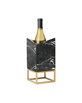Rabbit - RBT Calacatta Marble Bottle Chiller & Display Stand