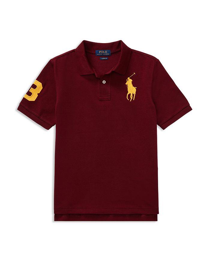 Ralph Lauren - Boys' Big Pony Cotton Mesh Polo - Little Kid, Big Kid