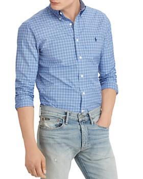 Polo Ralph Lauren - Polo Plaid Poplin Classic Fit Shirt