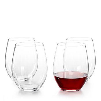 Riedel - O Cabernet/Merlot Glass, Set of 3 Plus Bonus Glass