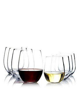 Riedel - O Cabernet & O Chardonnay Wine Glasses, Set of 8