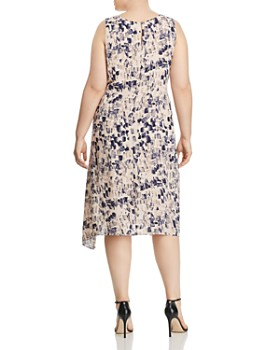 NIC and ZOE Plus - Petal or Nothing Shirred Dress