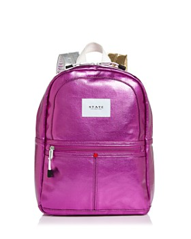 STATE - Mini Kane Metallic Backpack