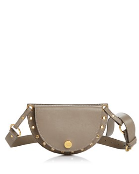 See by Chloé - Kriss Convertible Suede and Leather Belt Bag