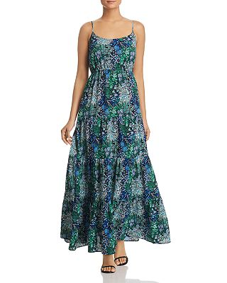 Michael Michael Kors Paisley Print Tiered Maxi Dress Bloomingdale S