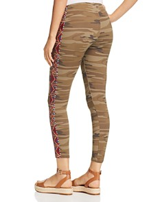Johnny Was - Marjan Embroidered Camo Leggings
