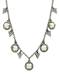 "Freida Rothman Cultured Freshwater Pearl Textured Statement Necklace, 16"" - Bloomingdale's_0"