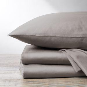 Coyuchi Organic Cotton Sateen 300TC Sheet Set, Twin
