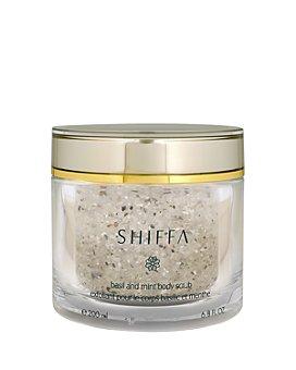 SHIFFA - Basil & Mint Body Scrub 6.8 oz.