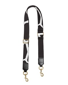 MARC JACOBS Giraffe Thin Webbing Shoulder Strap - Bloomingdale's_0