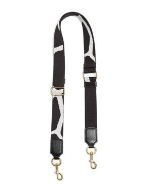 Marc Jacobs Giraffe Thin Webbing Shoulder Strap