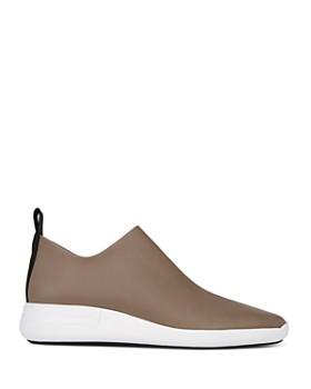 Via Spiga - Women's Marlow Leather Slip-On Sneakers