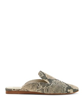Dolce Vita - Women's Brie Snake-Embossed Leather Mules